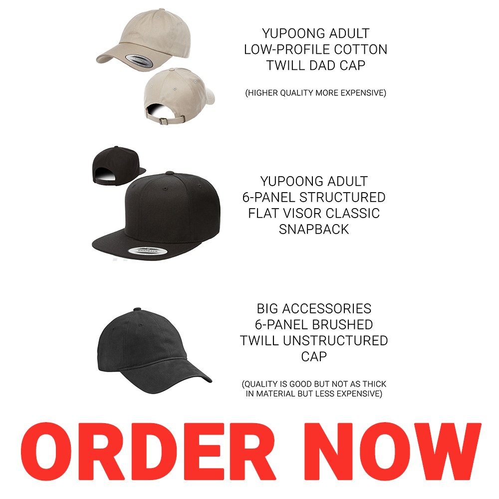 Order your logo on any hat or patch!